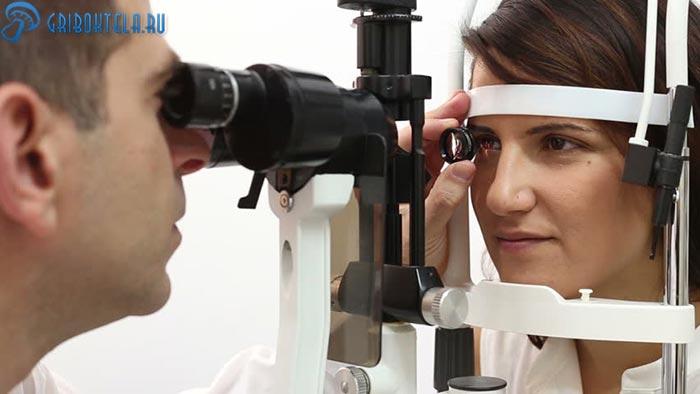 Диагностика кератомикоза
