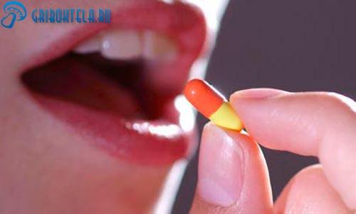 Лечение грибка во рту таблетками