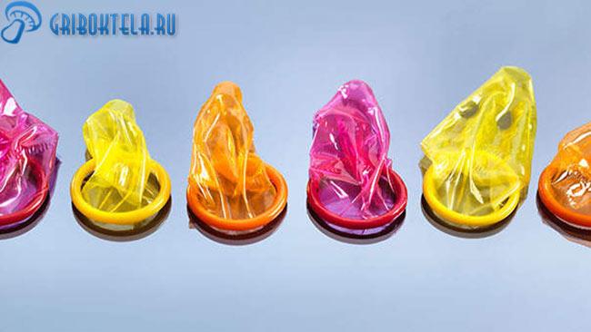 Презервативы - не помогают не заразиться молочницей