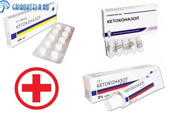 Формы выпуска кетоконазола