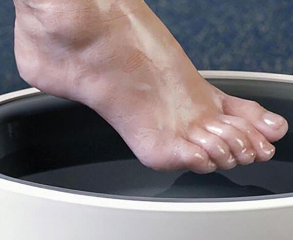 Ванночка с кофе от грибка ногтей