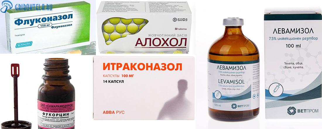 Лекарства от генерализованного кандидоза